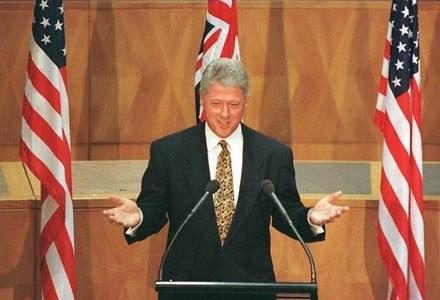 Na zaginionym dysku znajdowały się dane z czasów prezydentury Billa Clintona /materiały prasowe