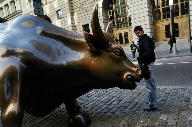 Na zamknięciu Dow Jones Industrial wzrósł o 0,36 proc. do 12 984,69 pkt. /AFP
