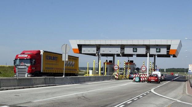 Na zdj. bramki na A4 / Andrzej Grygiel    /PAP