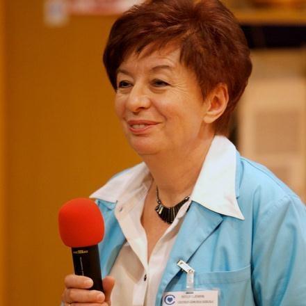 Na zdj. dr n. med. Maria Szarras-Czapnik /INTERIA.PL