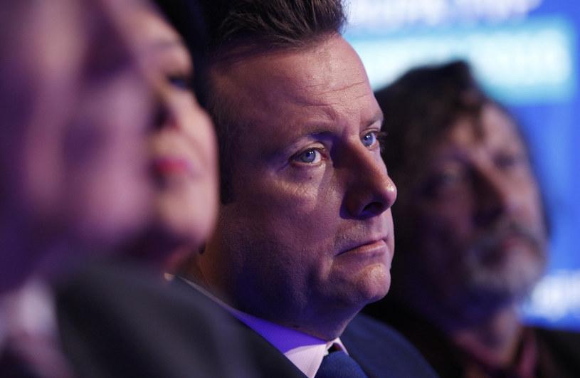 Na zdj. dziennikarz TVP Info Adrian Klarenbach /STEFAN MASZEWSKI/REPORTER /Reporter