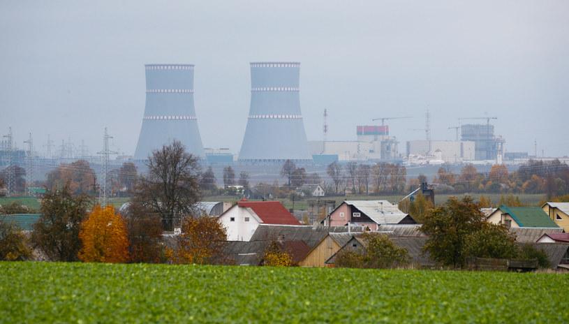 Na zdj. elektrownia jądrowa na Białorusi /VASILY FEDOSENKO/ Reuters /Agencja FORUM