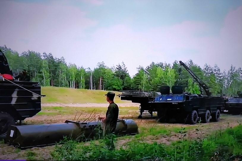Na zdj. jednostki armii Białorusi /Victor Lisitsyn /Agencja FORUM