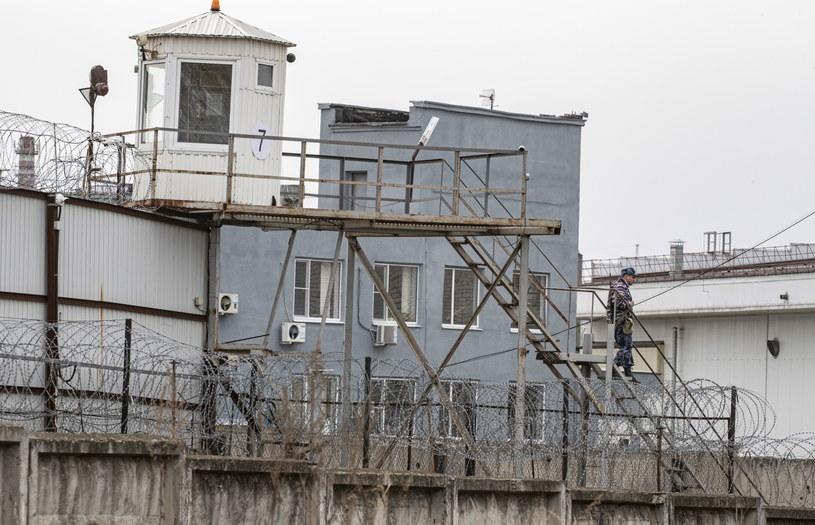 Na zdj. kolonia karna nr 3 we Włodzimierzu /Sergei Ilnitsky /PAP/EPA