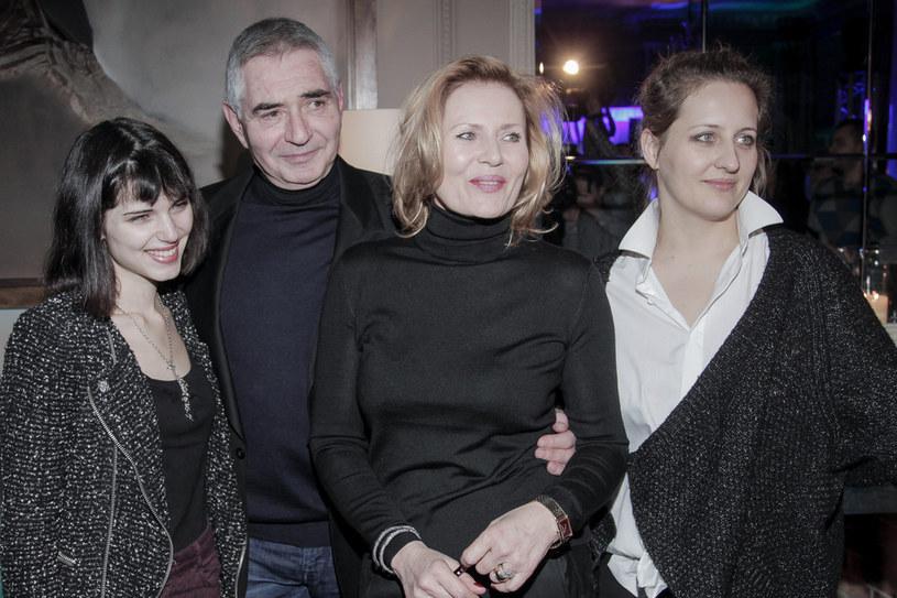 Na zdj.: Michalina Olszańska, Eryk Stępniewski, Katarzyna Jungowska, Grażyna Szapołowska /Dariusz Gałązka /AKPA