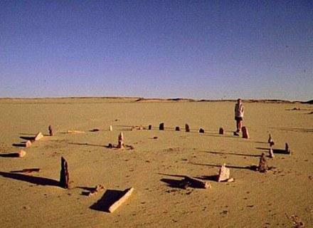 Na zdj. Miniaturowa wresja Stonehenge z Nabta Playa /Archiwum