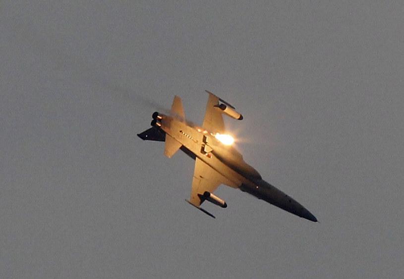 Na zdj. myśliwiec F-5E Sił Powietrznych Tajwanu /Pichi Chuang/ Reuters /Agencja FORUM