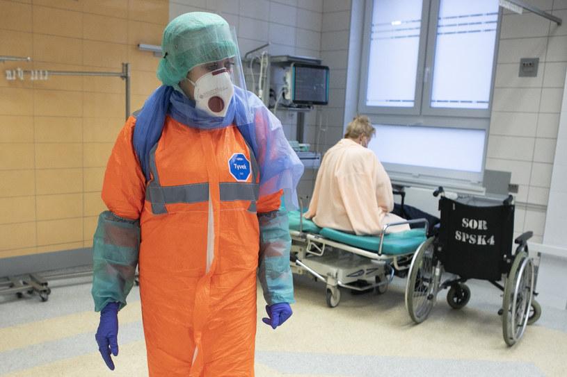 Na zdj. oddział ratunkowy Szpitala Klinicznego nr 4 w Lublinie /Jacek Szydłowski /Agencja FORUM