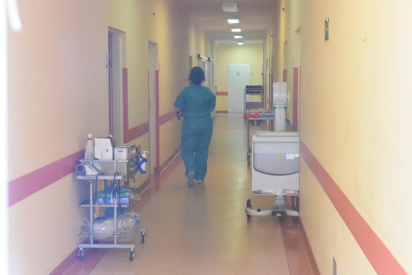 Na zdj. oddział zakaźny w szpitalu w Zielonej Górze /Fot. MARIUSZ KAPALA / GazetA LUBUSKA/Polska Press /East News