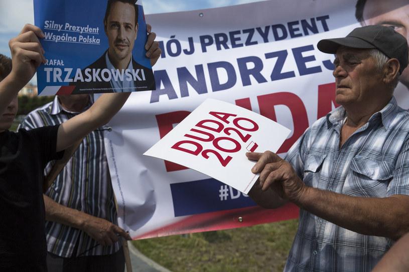 Na zdj. Ostrołęka (25.06) - spotkanie z wyborcami Rafała Trzaskowskiego /MAREK MALISZEWSKI/REPORTER /Reporter