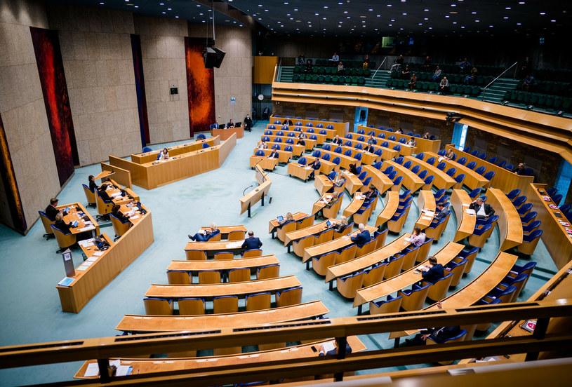 Na zdj. posłowie w holenderskim parlamencie /BART MAAT/AFP/East News /East News