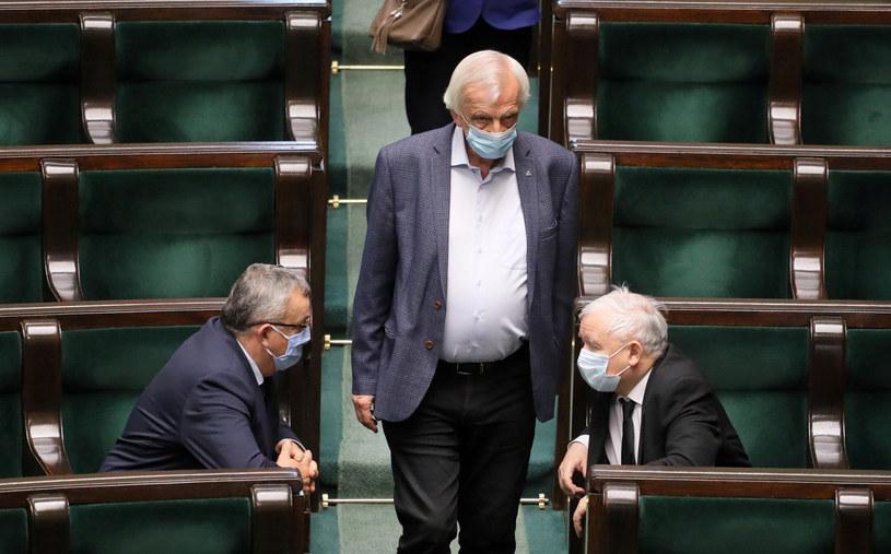 Na zdj. Ryszard Terlecki w Sejmie /Jakub Kaminski/East News /East News