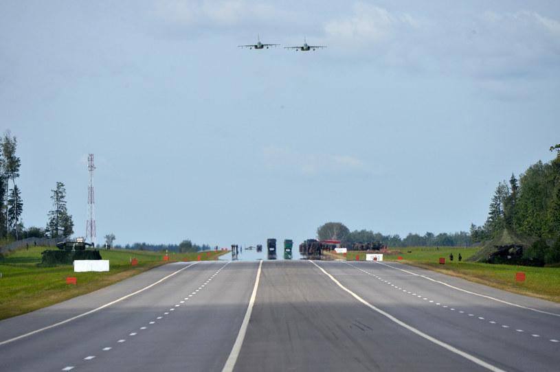 Na zdj. samoloty Sił Powietrznych Białorusi (zdj. ilustracyjne) /SPUTNIK/EAST NEWS /East News