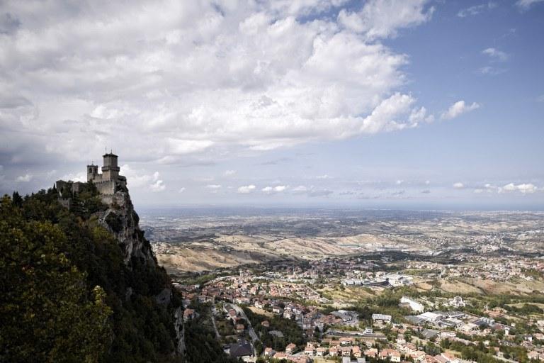 Na zdj. San Marino /MARCO BERTORELLO /AFP
