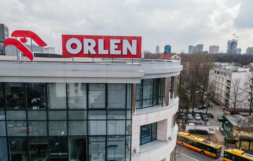 Na zdj. siedziba spółki PKN Orlen przy ul. Bielańskiej w Warszawie /Tomasz Jastrzebowski/REPORTER /Reporter