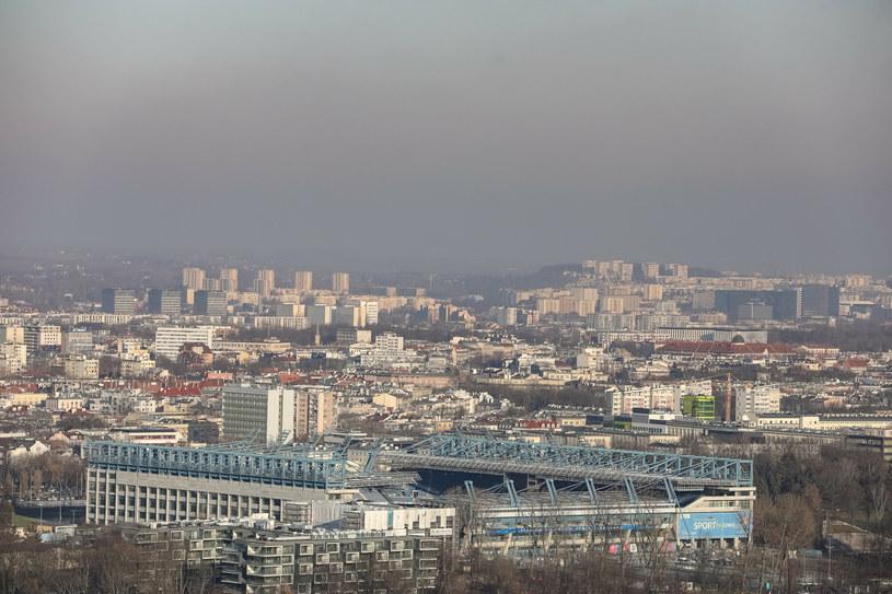 Na zdj. smog w Krakowie /ANNA KACZMARZ / DZIENNIK POLSKI / POLSKA PRESS/Polska Press/East /East News