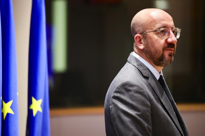 Na zdj. szef Rady Europejskiej Charles Michel /OLIVIER MATTHYS    /AFP