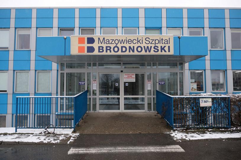 Na zdj. Szpital Bródnowski w Warszawie /Mateusz Grochocki/East News /East News