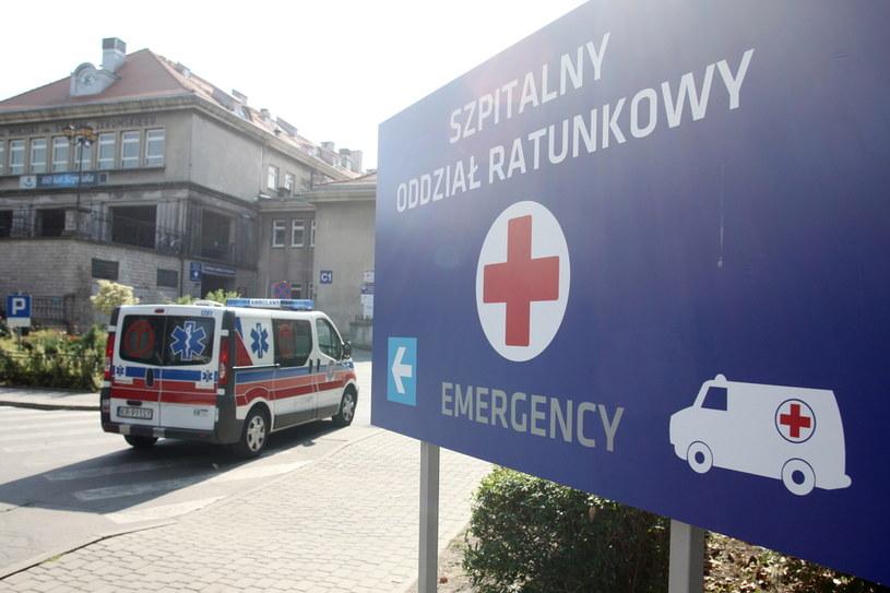 Na zdj. Szpital Specjalistyczny im. Stefana Żeromskiego w Krakowie /Piotr Guzik /Agencja FORUM