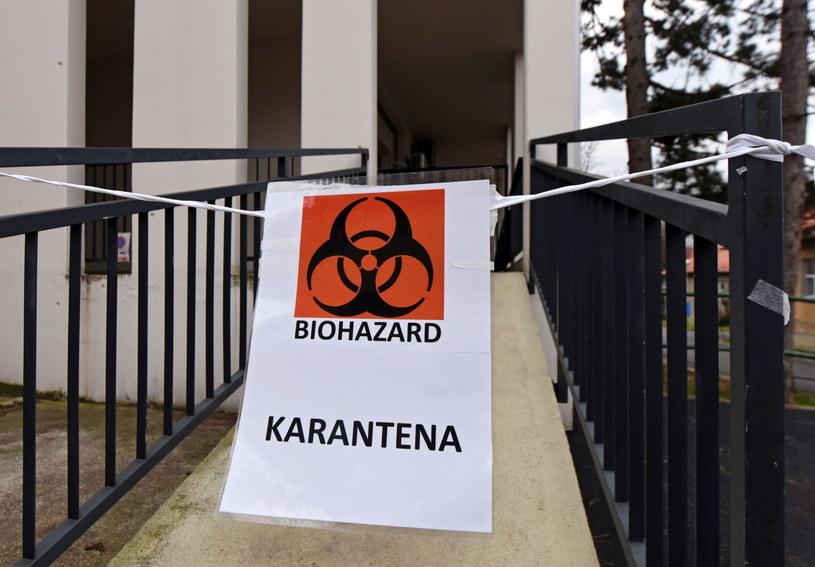 Na zdj. szpital w Chorwacji /ANTONIO BAT /PAP/EPA