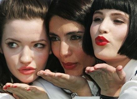 Na zdj. Talulah Riley, Caterina Murino i Gemma Arterton. /Getty Images/Flash Press Media