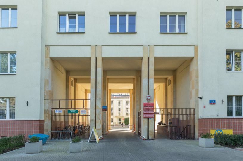 Na zdj. wejście do siedziby Ministerstwa Klimatu /ARKADIUSZ ZIOLEK/East News /East News