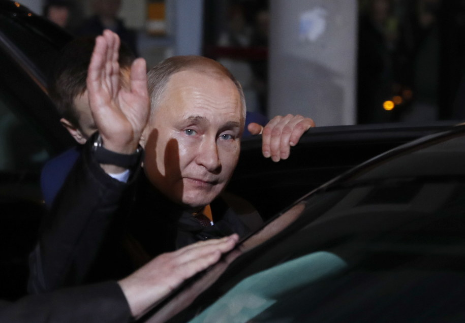 Na zdj. Władimir Putin /PAP/EPA/MAXIM SHIPENKOV / POOL /PAP
