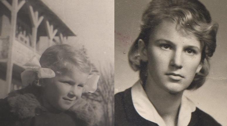 Na zdjęciach mała Ania i dorosła już Anna Berezowska /Archiwum prywatne Anny Berezowskiej /INTERIA.PL