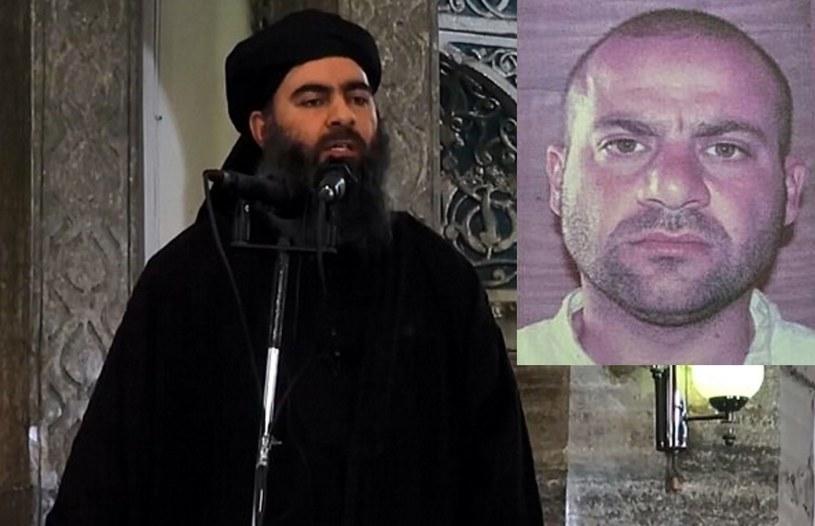 Na zdjęciu: Abu Bakr al-Bagdadi i jego domniemany następca Abdullah Kardasz /