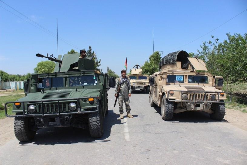 Na zdjęciu afgańskie wojska /BASHIR KHAN SAFI /AFP