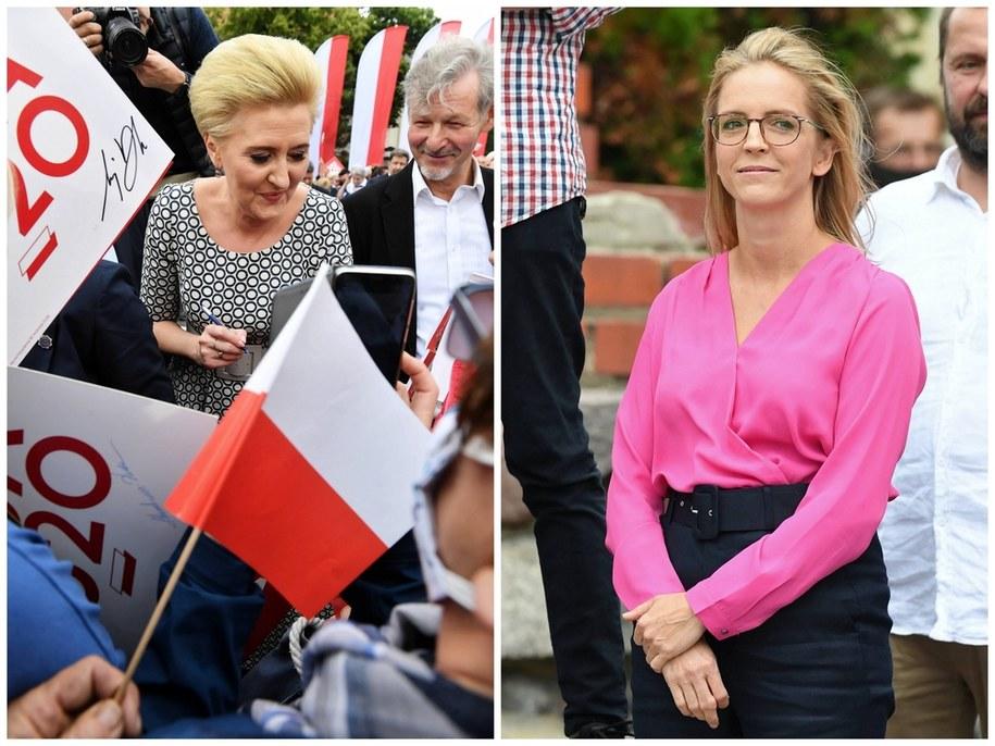 Na zdjęciu Agata Kornhauser-Duda i Małgorzata Trzaskowska /Grzegorz Michałowski/Radek Pietruszka /PAP