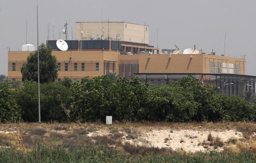 Na zdjęciu ambasada USA w Bagdadzie /AHMAD AL-RUBAYE / AFP /AFP