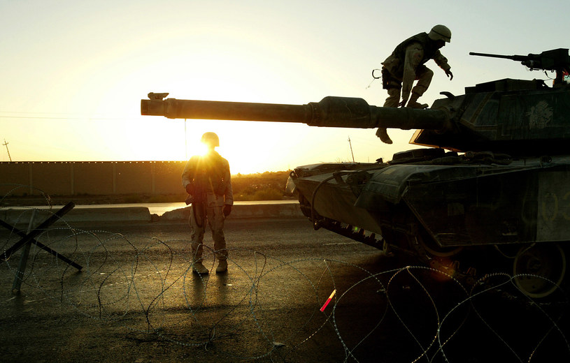 Na zdjęciu: Amerykańscy żołnierze w Iraku /THOMAS COEX /AFP