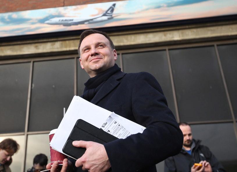 Na zdjęciu Andrzej Duda /Rafał Guz /PAP