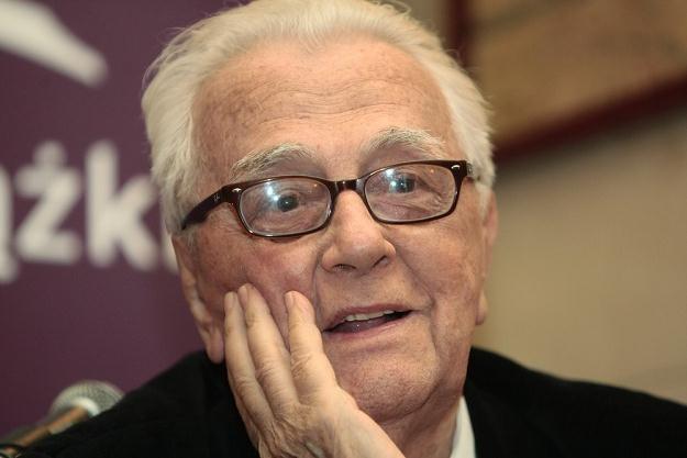 Na zdjęciu Andrzej Łapicki, fot. P. Grzybowski /East News