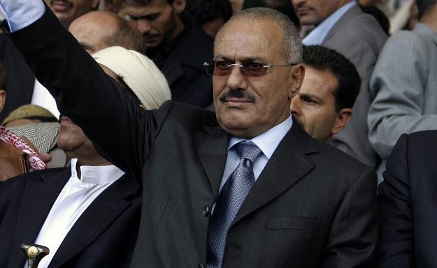 Na zdjęciu archiwalnym prezydent Jemenu Ali Abd Allah Salah /AFP