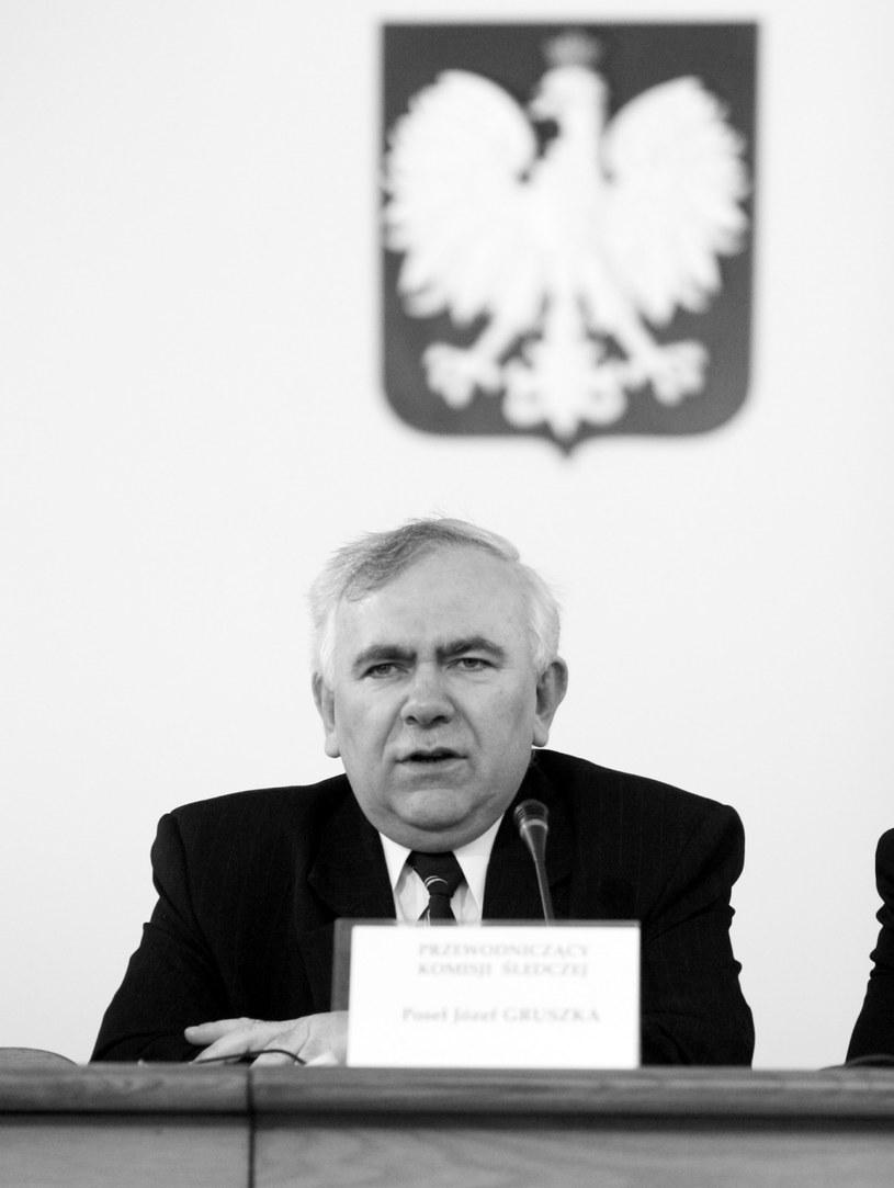 Na zdjęciu archiwalnym z 2005 r. wieloletni poseł na Sejm RP z ramienia PSL i pierwszy przewodniczący Sejmiku Województwa Wielkopolskiego Józef Gruszka / Tomasz Gzell    /PAP