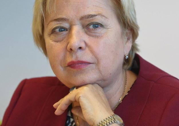 Na zdjęciu archiwalnym z 27.09.2016 r. pierwsza prezes Sądu Najwyższego Małgorzata Gersdorf /Rafał Guz /PAP