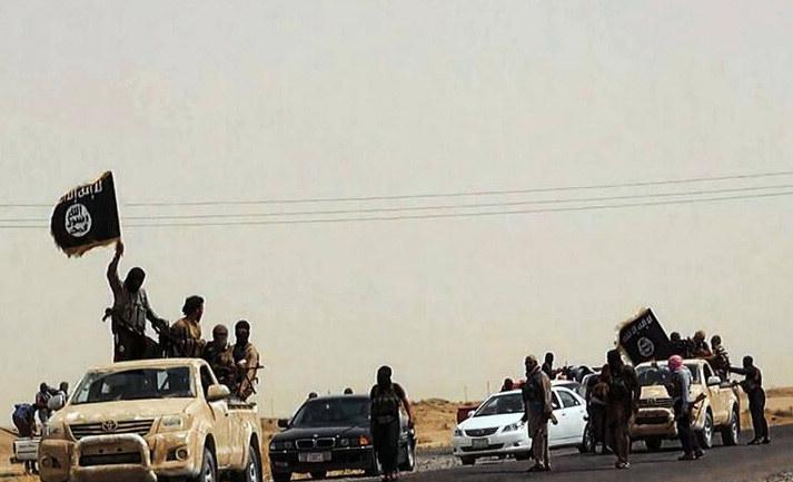 Na zdjęciu bojownicy w prowincji Salah ad-Din /HO / WELAYAT SALAHUDDIN /AFP