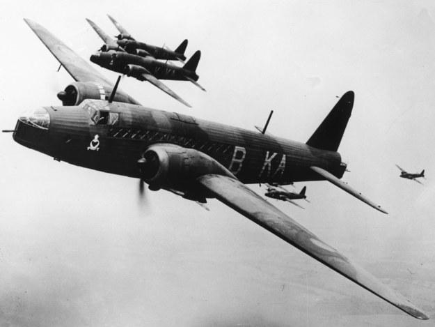 Na zdjęciu bombowce Vickers Wellington /AP /East News