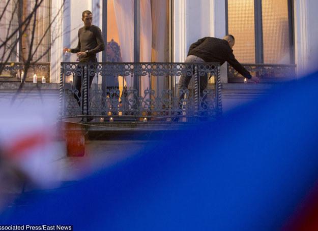Na zdjęciu: Brat poszukiwanego, Mohammad Abdeslam /AP/FOTOLINK /East News