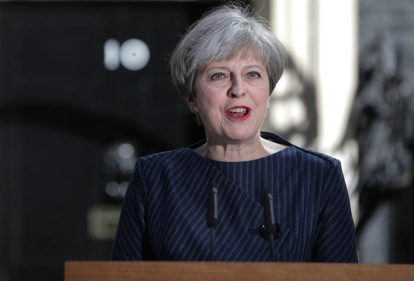 Na zdjęciu brytyjska premier Theresa May /AFP