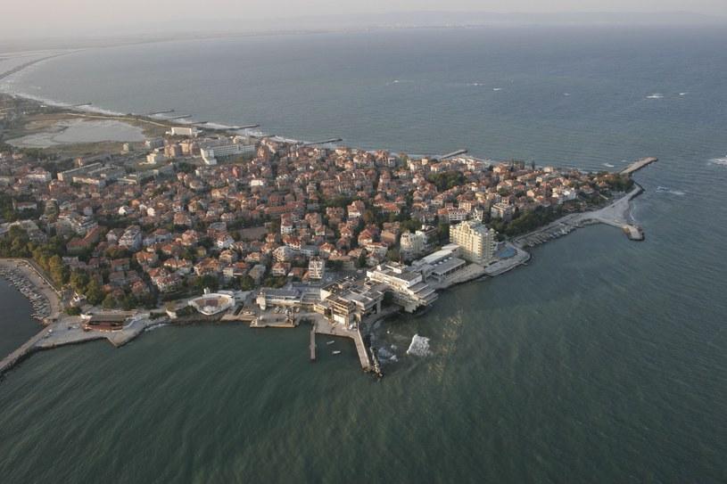 Na zdjęciu bułgarski kurort Pomorie nad Morzem Czarnym /Borys Czonkow /East News