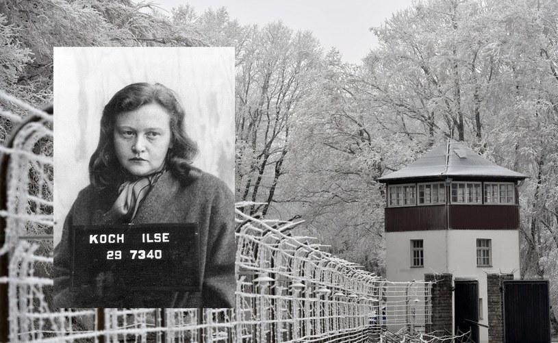 Na zdjęciu były obóz koncentracyjny w Buchenwaldzie i Ilsa Koch /AFP/domena publiczna /