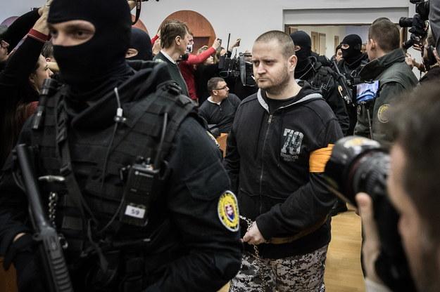 Na zdjęciu były wojskowy Miroslav Marcek /JAKUB GAVLAK /PAP/EPA
