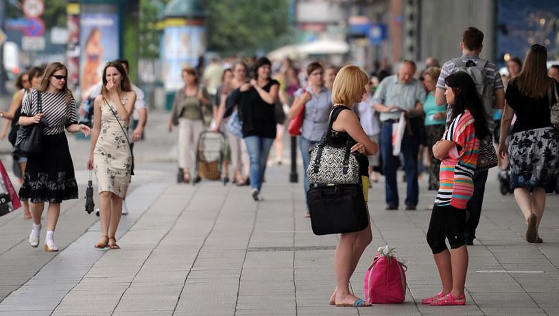 Na zdjęciu centrum Warszawy /AFP /AFP