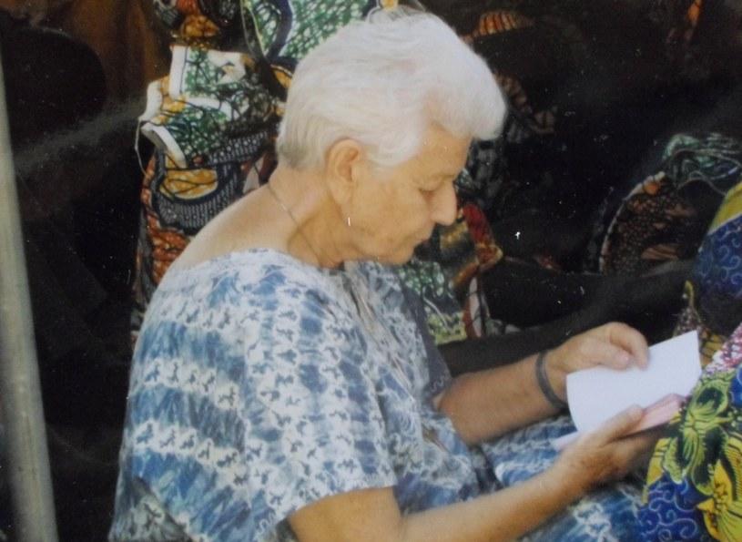 Na zdjęciu Gilberte Bussiere - zakonnica, która została uprowadzona w Kamerunie /AFP