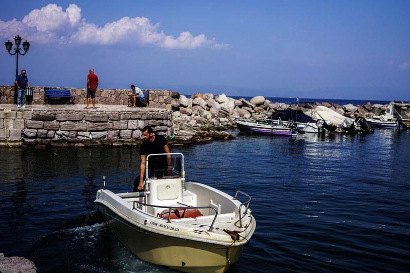 Na zdjęciu grecka wyspa Lesbos /AFP
