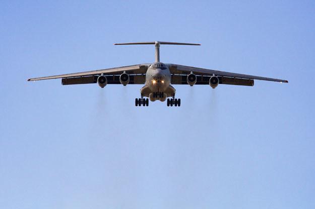 Na zdjeciu Ił-76 /AFP