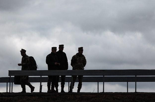 Na zdjęciu ilustracyjnym: ukraińscy żołnierze /ROMAN PILIPEY /PAP/EPA